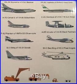 Trumpeter 1350 U. S. Nimitz CVN-68 Aircraft Carrier Plastic Model Kit #05605