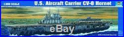 Trumpeter 1350 USS CV8 Hornet Aircraft Carrier Plastic Model Kit TSM5601