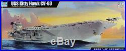 Trumpeter 1350 USS Kitty Hawk CV-63 Aircraft Carrier Plastic Kit #05619U