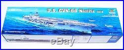 Trumpeter 1350 USS Nimitz CVN68 Aircraft Carrier Plastic Model Kit TSM5605