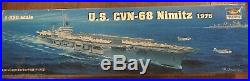 Trumpeter 1350 USS Nimitz CVN68 Aircraft Carrier Plastic Model Kit TSM5605 New