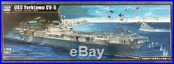 Trumpeter #3711 1/200 scale USS Yorktown CV-5 Aircraft Carrier BRAND NEW