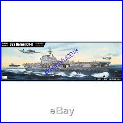 Trumpeter 62001 1/200 scale USS HORNET CV-8 Aircraft carrier model kit 2019