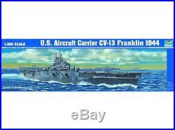Trumpeter Models 5604 1350 USS Franklin 1944 CV13 Aircraft Carrier Plastic Mode