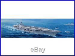 Trumpeter USS CVN-68 Nimitz aircraft carrier 75 1350 model kit 5605 DAMAGED BOX