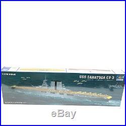 Trumpeter USS Saratoga CV3 1/350 Aircraft Carrier Plastic Model Kit 05607 Sealed