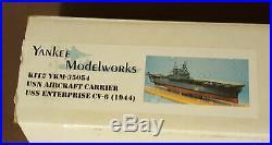 U. S. S. Enterprise 1350 CV-6 Aircraft Carrier, Yankee Modelworks Resin Ship Kit