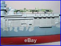 U. S. US Aircraft Carrier CV-8 Hornet Nave Portaerei 1350 Plastic Model Kit