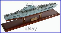 US Navy Hornet CV-8 Desk Display Doolittle Aircraft Carrier 1/350 Ship ES Model