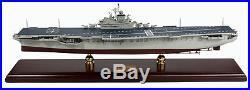 US Navy USS Intrepid CV-11 Desk Top Display 1/350 Aircraft Carrier Ship ES Model