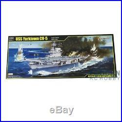 US Stock Trumpeter 65301 1/350 USS YORKTOWN CV-5 Carrier Aircraft Fighter Model