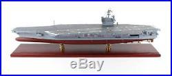 USN USS Ronald Reagan CVN-76 Desk Display 1/430 Aircraft Carrier Ship ES Model