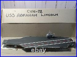 USS Abraham Lincoln CVN-72 Aircraft Carrier 11250 Model CMP 1018 Miniatures