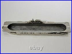 USS Enterprise CV-6 Aircraft Carrier Original WW2 Ashtray Newport News