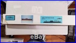 USS Enterprise CV6 Blue Water Navy Aircraft Carrier Model Kit