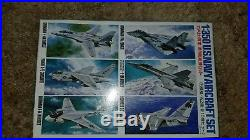 USS Enterprise CVN-65 1/350 Scale Aircraft Carrier Factory Sealed Parts USED