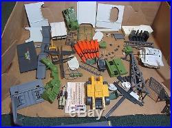 USS FLAGG 1985 GI Joe NAVY AIRCRAFT CARRIER Near Complete + Box KEEL HAUL Figure