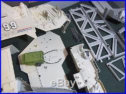 USS FLAGG 1985 GI Joe Toy AIRCRAFT CARRIER Near Complete with Box KEEL HAUL Figure