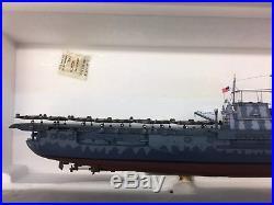USS Hornet CV-8 WWII Aircraft Carrier April 1942 Danbury Mint