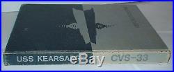 USS Kearsarge CVS 33 SIGNED BY JOHN WAYNE Aircraft Carrier yearbook