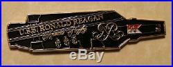 USS Reagan CVN-76 Aircraft Carrier RIMPAC 2014 Chiefs Mess Navy Challenge Coin