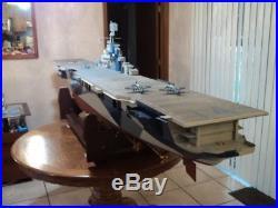 USS Ticonderoga CV14 -RC 10ft Aircraft Carrier 1/96 RTR