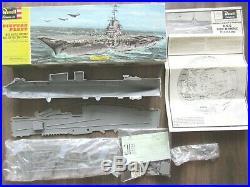 Us Navy Attack Aircraft Carrier Uss Bon Homme Richard Revell 1960 1/530