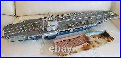 Used Micro Machines Aircraft Carrier Playset Great Condition
