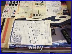 Uss Flagg Gi Joe Aircraft Carrier Complete With Mailer Sleeve MIB