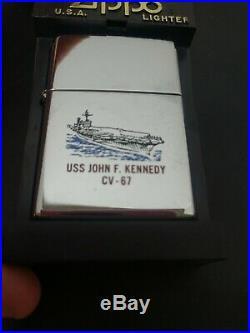 Uss John F. Kennedy CV 67 Zippo Lighter, Us Aircraft Carrier