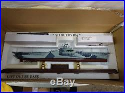 Uss Yorktown Cv-10 Signature Edition Franklin Mint Aircraft Carrier