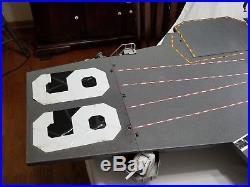 VINTAGE 1985 HASBRO GI JOE USS FLAGG AIRCRAFT CARRIER Near Complete! Read ask s