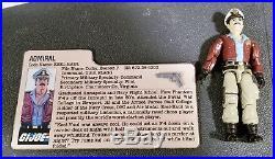 VINTAGE 80'S HASBRO GI JOE ARAH USS FLAGG AIRCRAFT CARRIER With ORIGINAL BOX