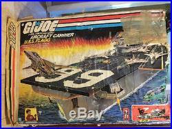 Vintage Gi Joe Uss Flagg Aircraft Carrier 99.9% Complete