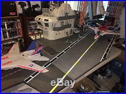 VINTAGE RARE GI JOE USS FLAGG AIRCRAFT CARRIER 90% Complete Please Read Discript