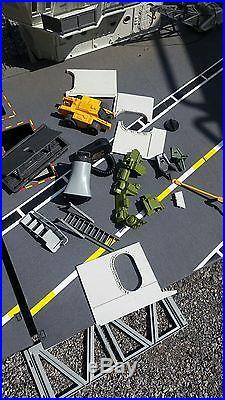 VINTAGE RARE GI JOE USS FLAGG AIRCRAFT CARRIER 95% Complete
