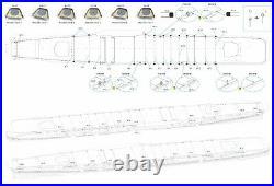Very Fire 1/350 IJN Aircraft Carrier Taiho Detail Up Set Part B Deck