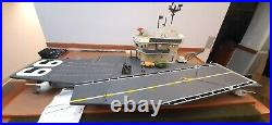 Vintage 1985 G. I. Joe USS Flagg Aircraft Carrier with Keel Haul Near Complete