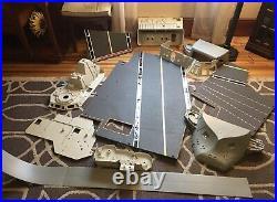 Vintage 1985 GI Joe USS FLAGG Aircraft Carrier Original Large Parts Lot Clean
