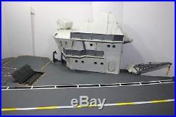 Vintage 1985 GI Joe USS Flagg 7' Aircraft Carrier Playset READ DESCRIPTION