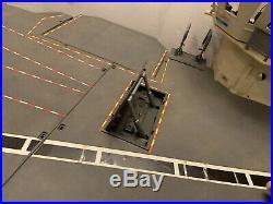 Vintage 1985 GI Joe USS Flagg Aircraft Carrier Lots Of Parts Hasbro Local Pic Up