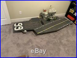 Vintage GI Joe USS FLAGG GI JOE AIRCRAFT CARRIER 90% Complete