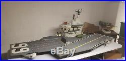 Vintage GI Joe USS FLAGG GI JOE AIRCRAFT CARRIER Almost Complete