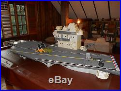 Vintage GI Joe USS Flag Aircraft Carrier 1985 - Really Nice Condition/RARE
