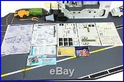 Vintage GI Joe USS Flagg Aircraft Carrier Amazing Condition! Rare Canadian READ