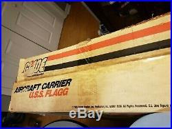 Vintage GI Joe USS Flagg Aircraft Carrier BOX 1985 Hasbro