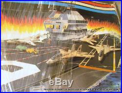 Vintage Hasbro GI JOE AIRCRAFT CARRIER USS FLAGG With BOX LOCAL PICK UP ONLY