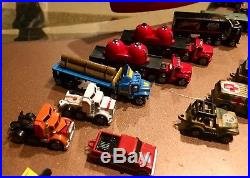 Vintage Micro Machines LOT of 49 Cars, Trucks, + Aircraft Carrier Sets