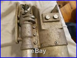 Vintage Military Aviation Aircraft Carrier Tarmac Sprayer (Fire Safety)
