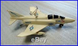 Vintage Schaper Aircraft Carrier USS Enterprise U-Fly-It Model 712 -1974